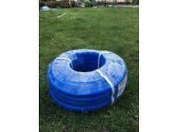 PVC reinforced hose blue 30m