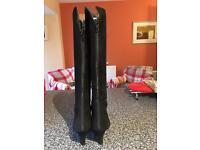 Jaime Mascaro Black Suede Boots