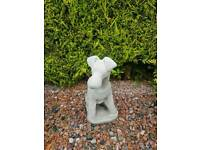 Concrete Dog Garden Ornaments