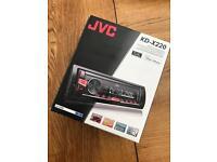 JVC CAR RADIO WITH AUX PORT