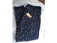 New with Tags, Ladies Pyjama Bottoms Size Large