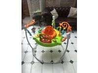Fisher Price Roaring Rainforest Jumperoo. Excellent condition