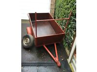 Car Trailer, 5ft x 3ft, with 16 inch high sides.