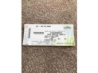 Stereophonics standing ticket SSE Hydro