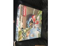 Mario kart 8 tv track racing car
