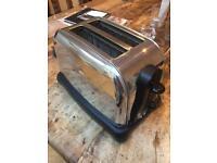 Russell Hobbs steel toaster