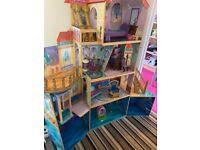 Disney princes little mermaid dolls house (large)