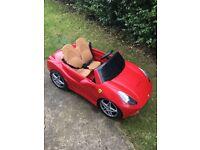 Children's electric Ferrari