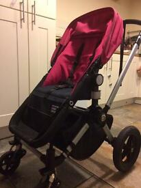 Bugaboo Cameleon with pram