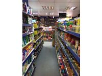 Profitable Off Licence / Grocery shop lease for sale with 4 bedroom flat
