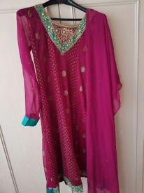 Traditional Indian suit