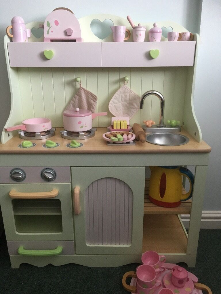 Early Learning Centre Country Kitchen Wooden Accessories