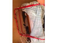 Large square rebounder net