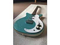 Danelectro Electric Guitar Turquoise DC 3 (Collect only Renfrew, Scotland)