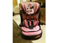 pink minnie mouse car seat