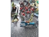 army soldiers and other collectable figures
