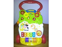 v tech baby walker brand new not been used in good condition
