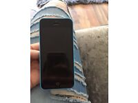 Blue IPhone 5c great condition