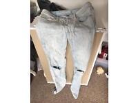 Ladies jeans size 8