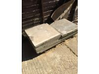 Solid Paving slabs 600x600mm