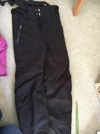 Black, Volkl Mens Salopettes with braces, worn once (!), size M