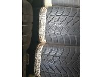 225/50/17 NEW Goodyear Runflat x2 pair