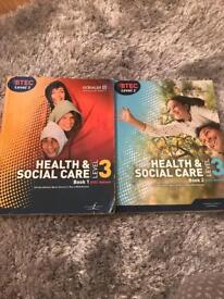 BTEC Level 3 Health and Social Care Books