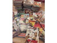 100 + Old War Comics - Commando etc