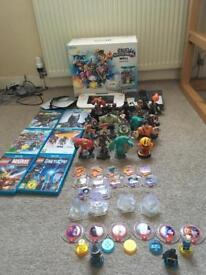 Wii u plus games, Lego dimensions and Disney infinity 3.0