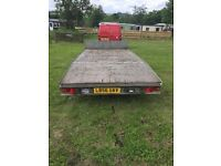 Plant trailer bever tail