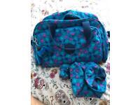 Kipling changing bag/mat/bottle holder/dummy holder