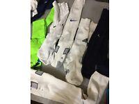 6 pack adidas,Nike and Sondico football socks 1-6 uk