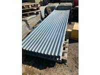 NEW JUST IN- 12ft x 1mtr Galvanised Corrugated Roofing Sheets