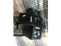 4 x Light Rigging for DJ/Disco/Stage/Venue/Events (Cue Lighting, GORMET Equinox & Star Cluster LED)