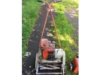 Suffolk Punch lawnmower with spare motor for spares or repair
