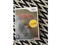 Wii game zelda
