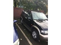kia sportage mk1 wanted black/rosegold run out 2004 model