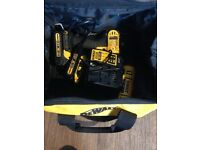 Dewalt combo set with two batteries and bag