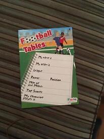 League football table