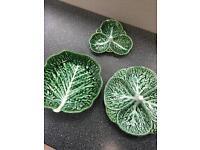 Portuguese Pottery Set