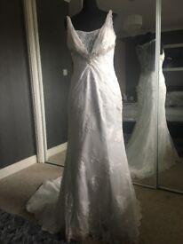 Brand New Wedding Dress (Ex Stock) Size 10 RRP £1200!