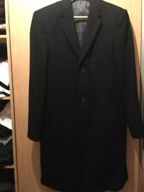 Black overcoat mens