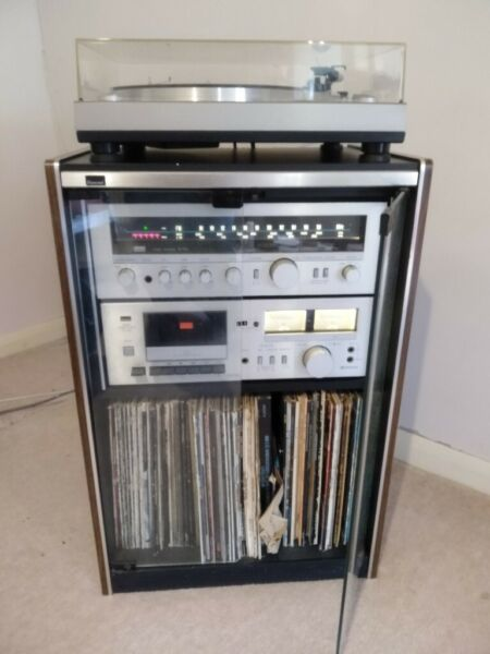 Sansui hifi system- turntable, amp and tape deck  for sale  Waterlooville, Hampshire