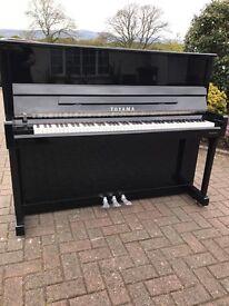 Toyama black upright piano |BelfastPianos|