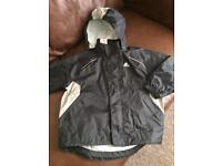 Boys authenticAdidas waterproof Jacket 5-6 yrs