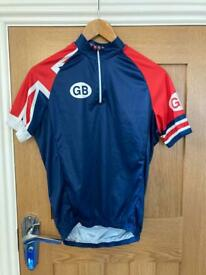 Cycling jersey tour of Britain GB
