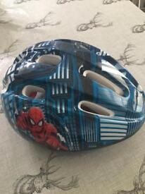 Spider-Man boys cycling helmet