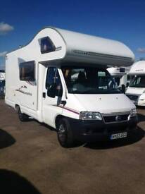 5 berth motorhome very good condition