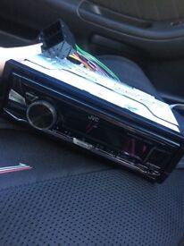 JVC car radio (brand new)