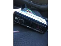 JVC car radio (brand new)